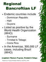 regional bancroftian lf