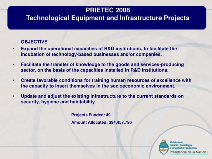 PRIETEC 2008