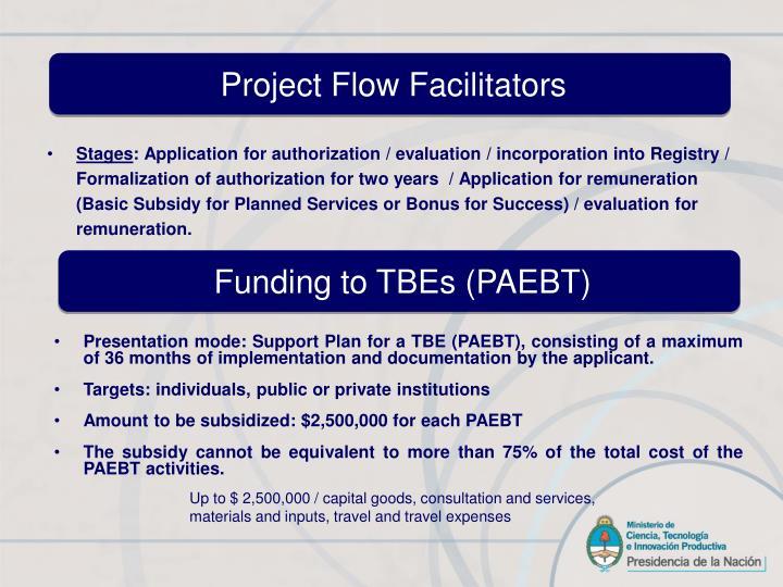 Project Flow Facilitators