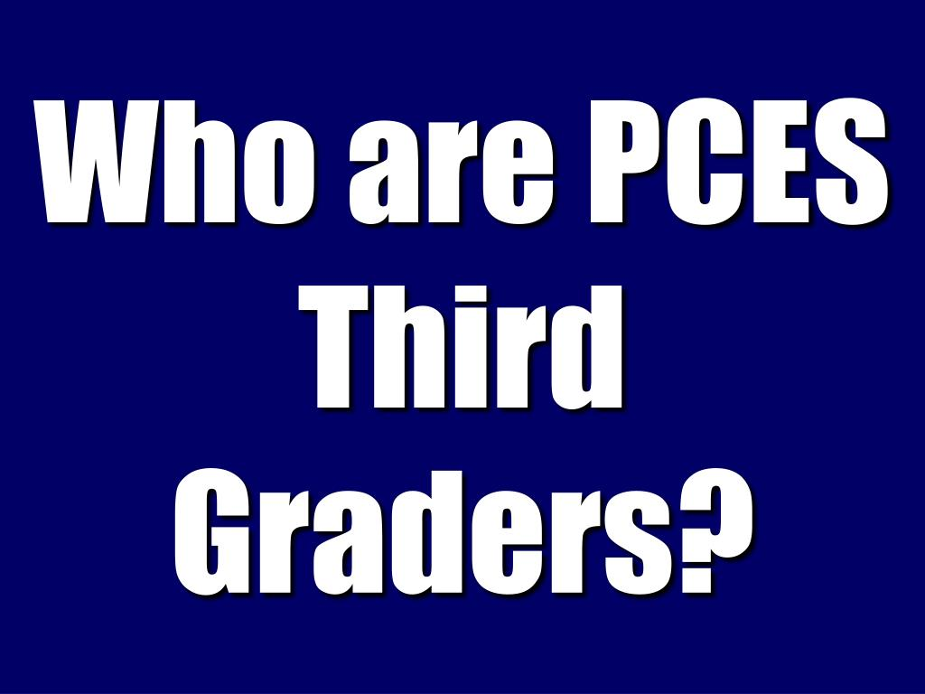 Who are PCES