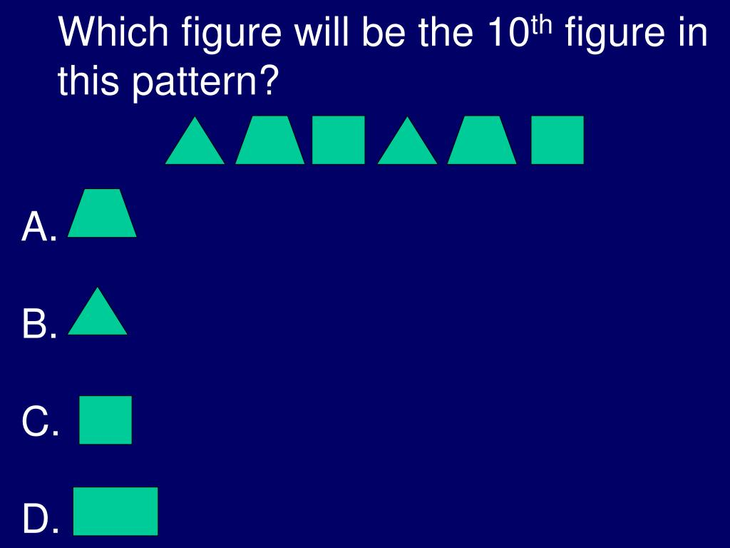 Which figure will be the 10