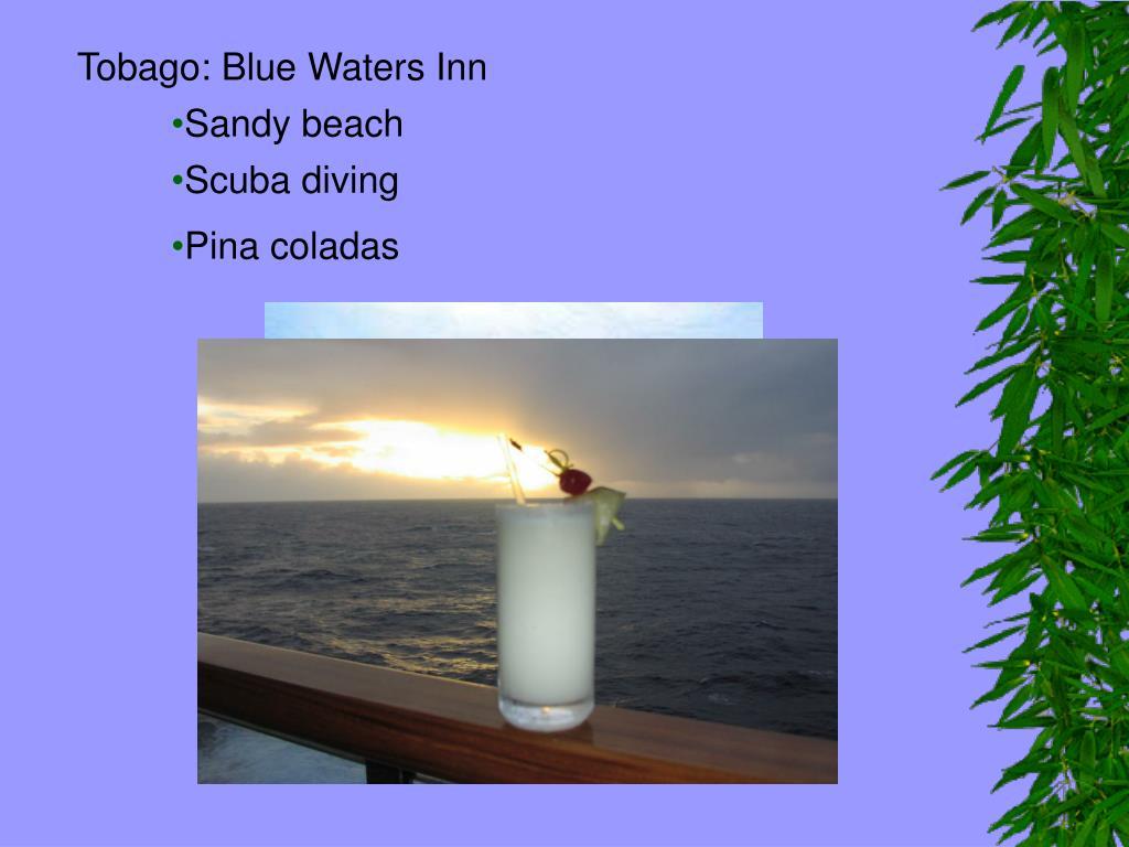 Tobago: Blue Waters Inn
