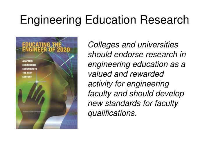 Engineering education research