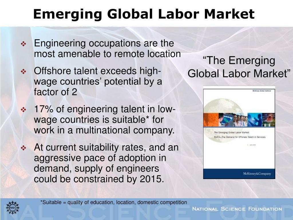 Emerging Global Labor Market