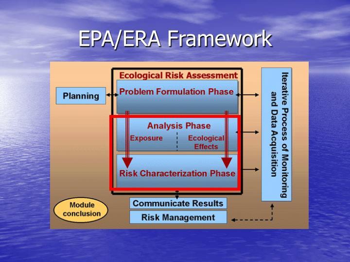 EPA/ERA Framework