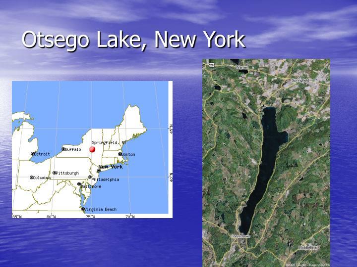 Otsego Lake, New York
