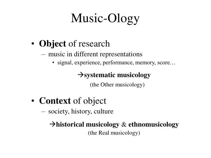 Music-Ology