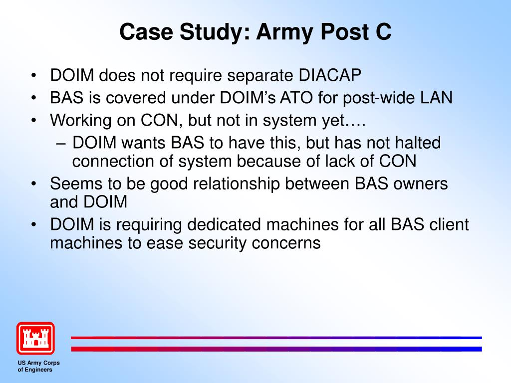 Case Study: Army Post C