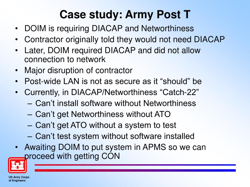 Case study: Army Post T
