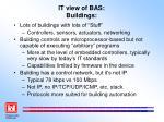 it view of bas buildings