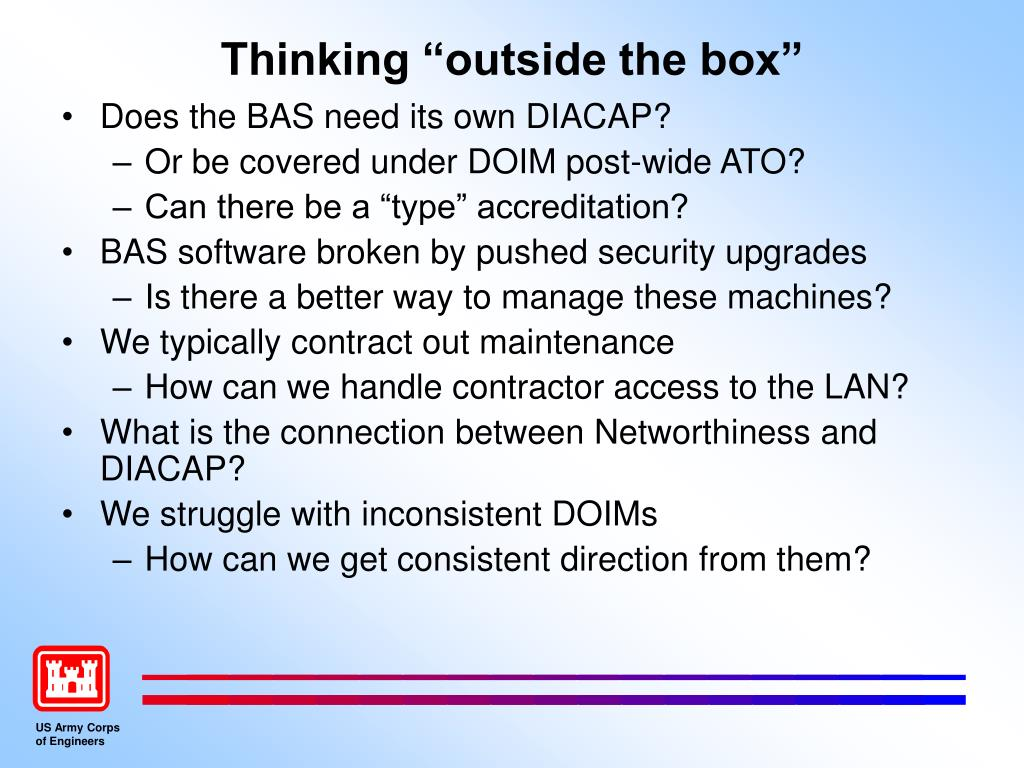 """Thinking """"outside the box"""""""