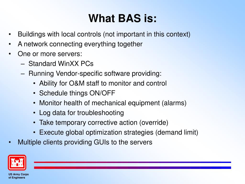 What BAS is: