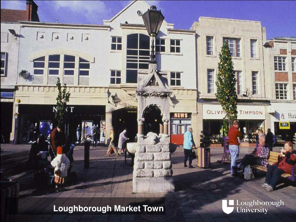 Loughborough Market Town
