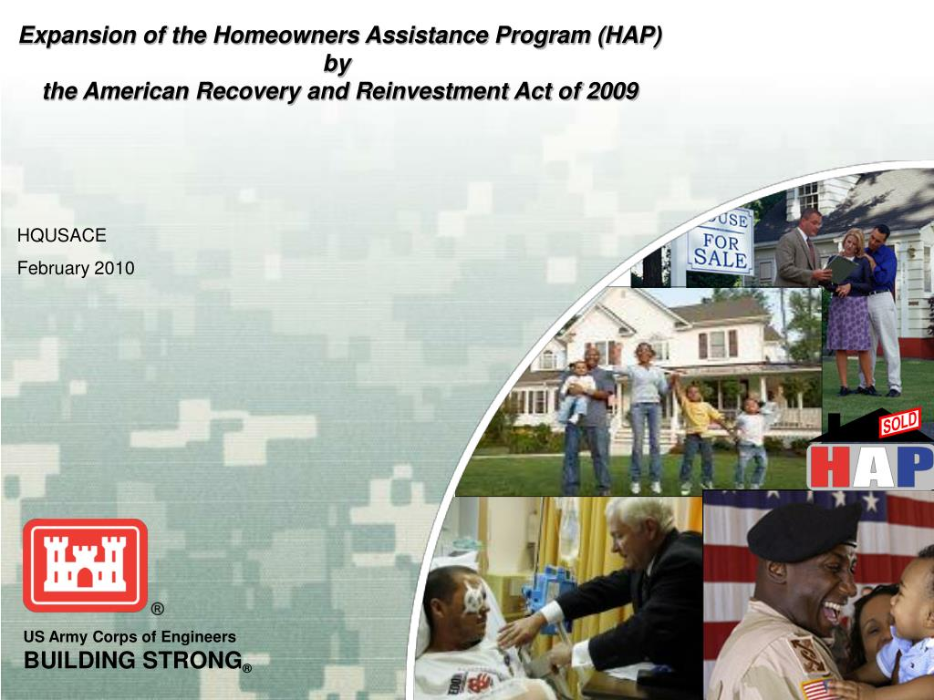 Expansion of the Homeowners Assistance Program (HAP)