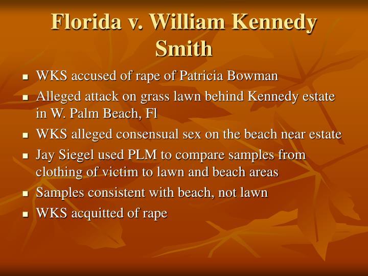 Florida v. William Kennedy Smith