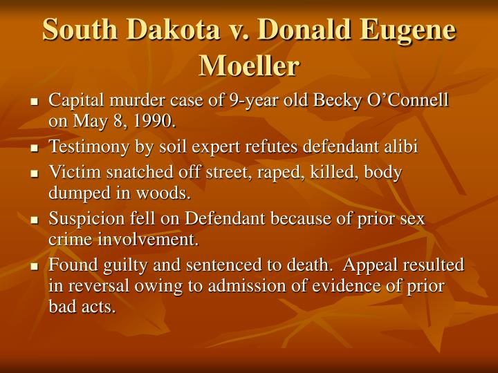 South Dakota v. Donald Eugene Moeller