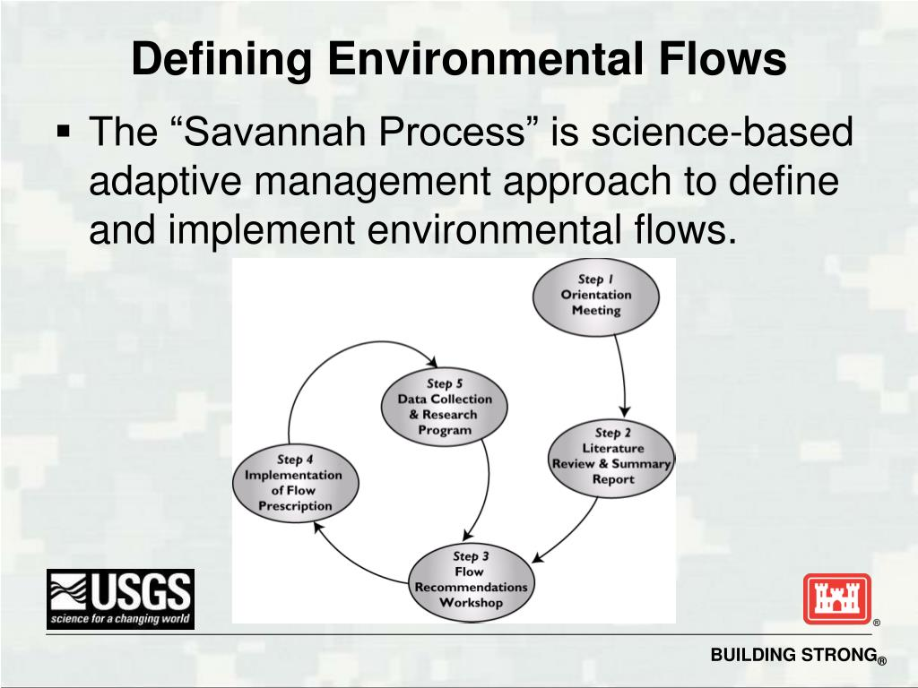 Defining Environmental Flows