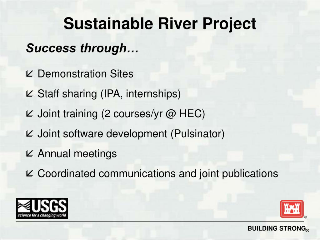 Sustainable River Project