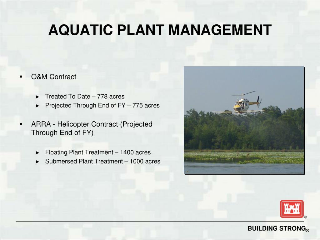 AQUATIC PLANT MANAGEMENT