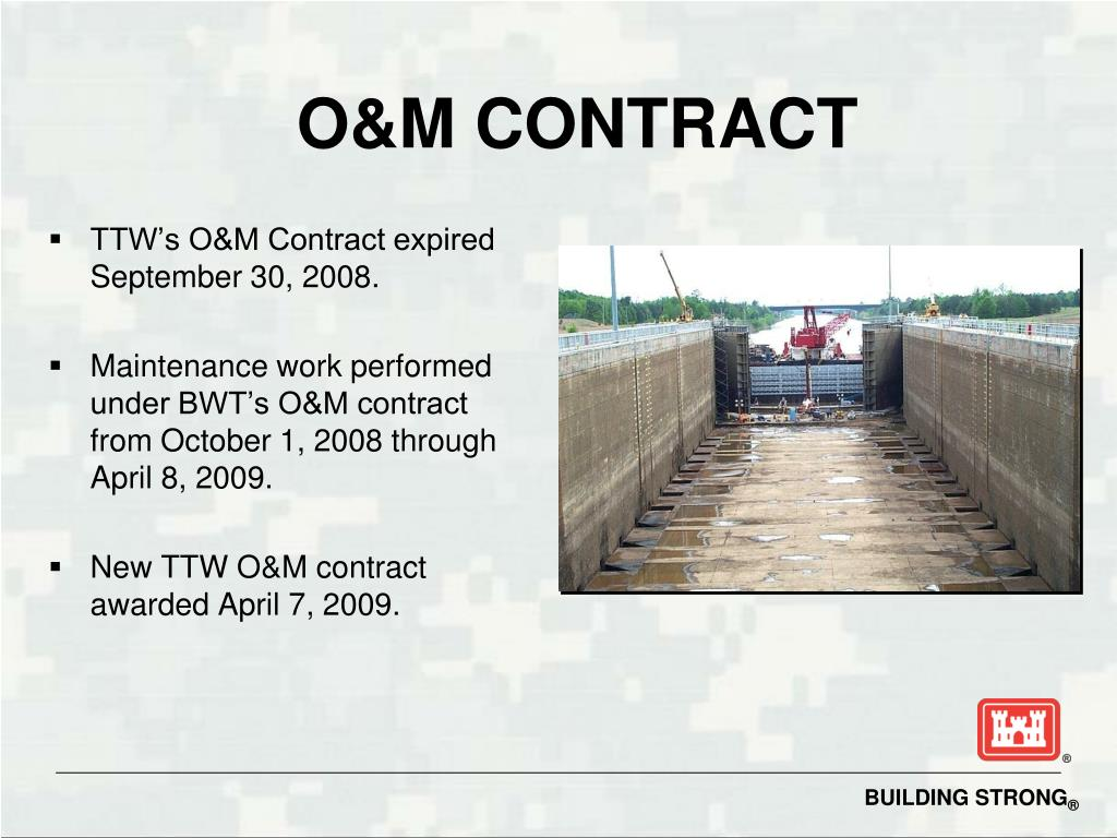 O&M CONTRACT