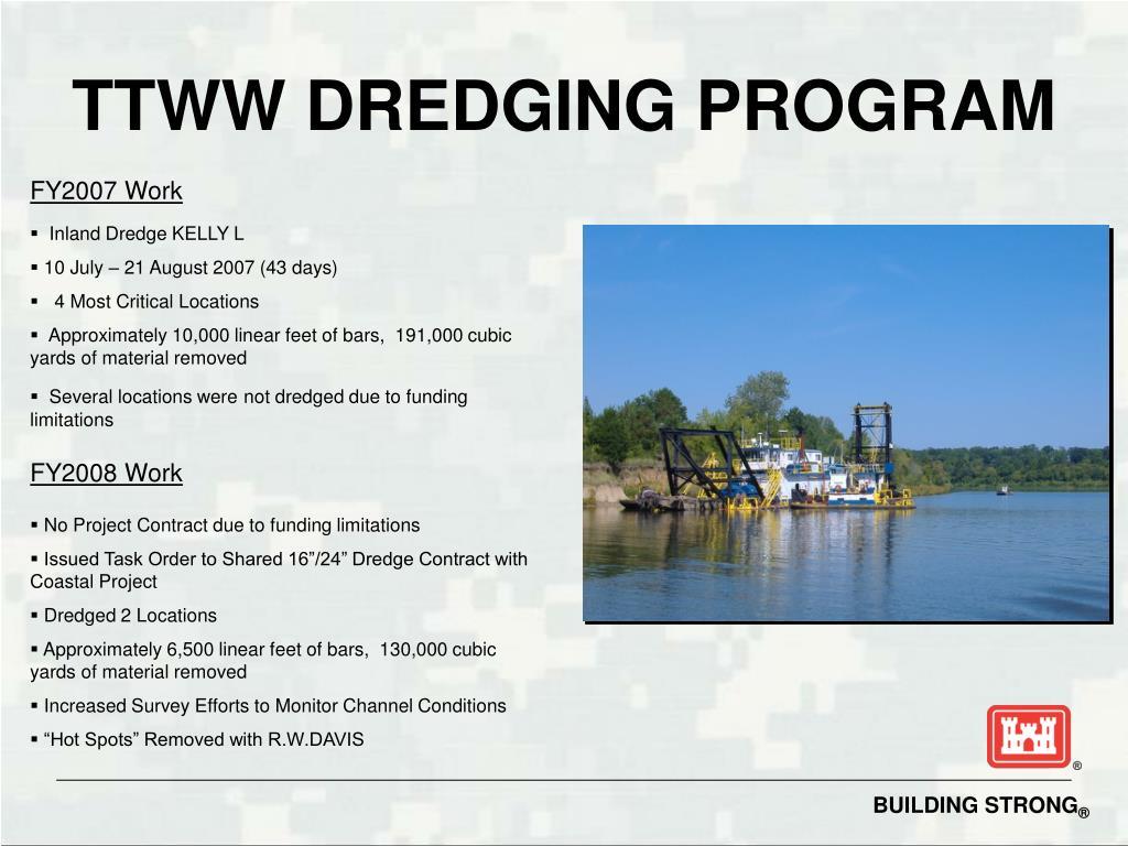 TTWW DREDGING PROGRAM