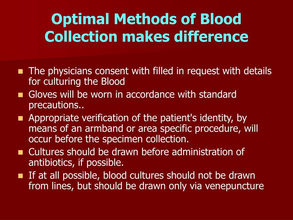 Optimal Methods of Blood Collection makes difference