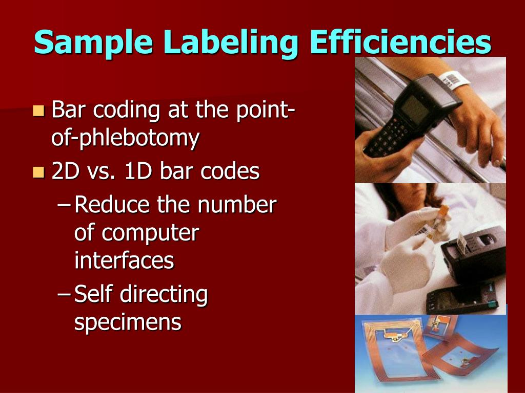 Sample Labeling Efficiencies