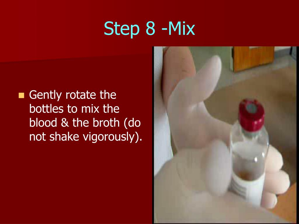 Step 8 -Mix