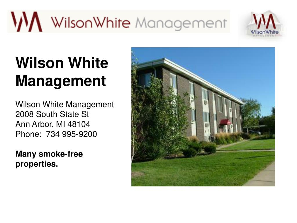 Wilson White Management