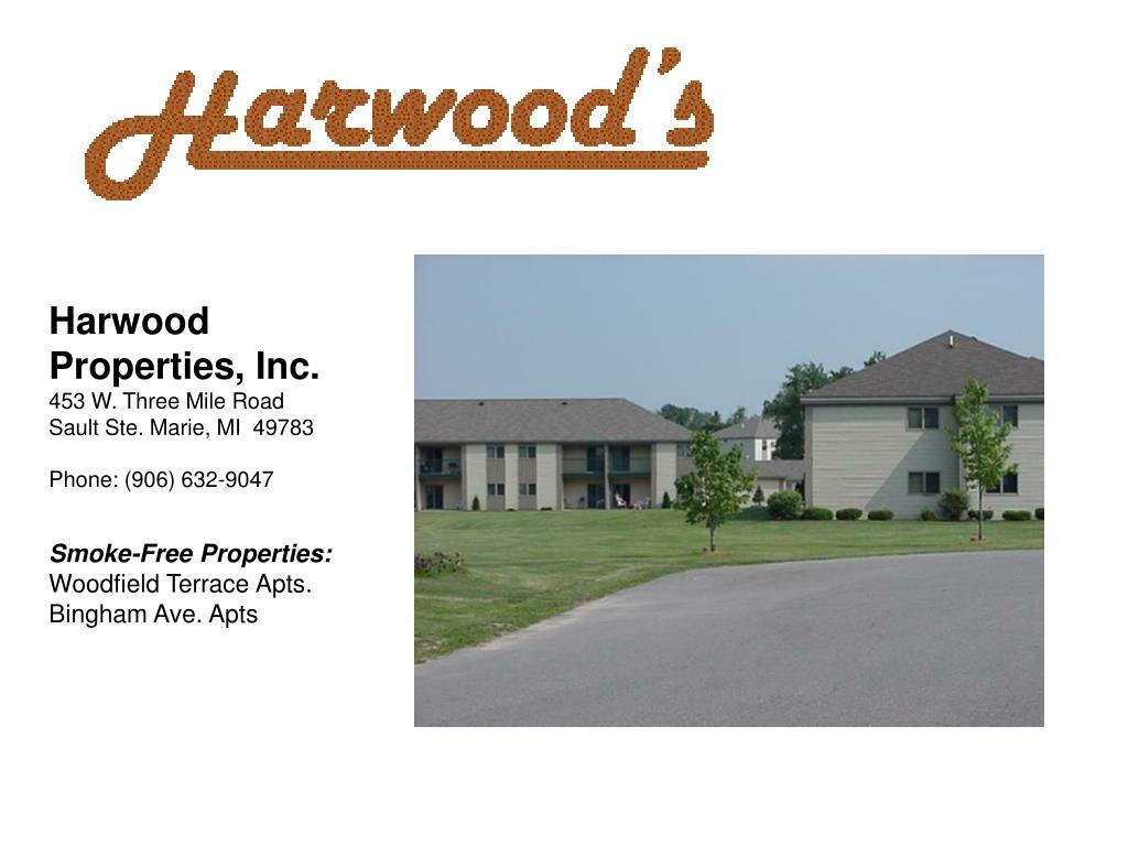 Harwood Properties, Inc.