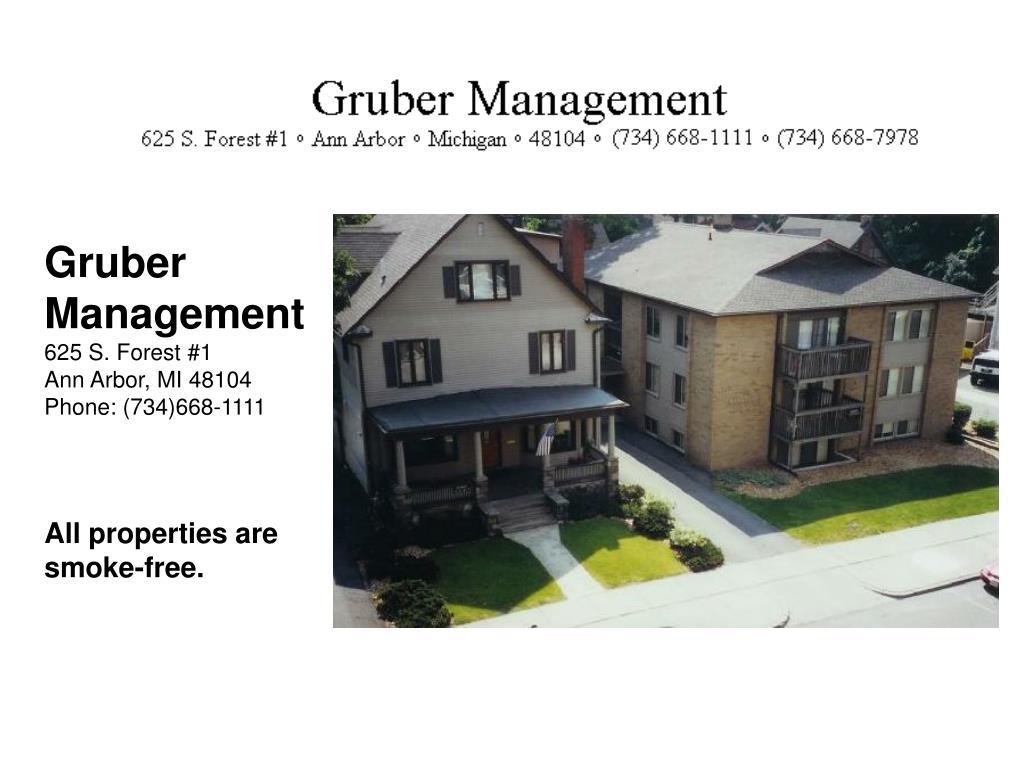Gruber Management