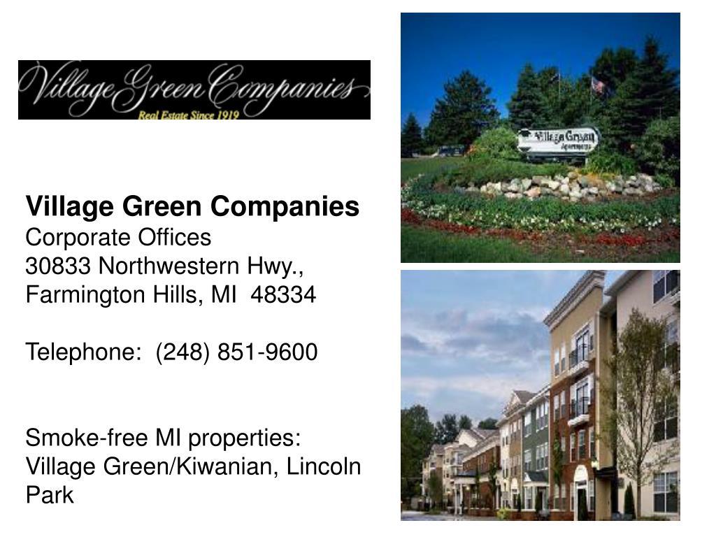 Village Green Companies