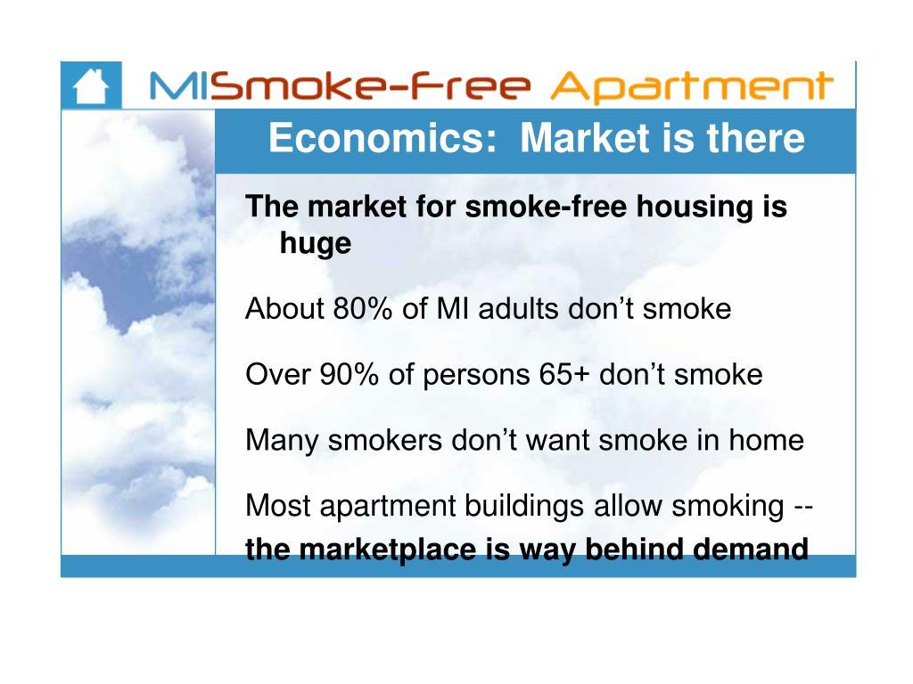 Economics:  Market is there