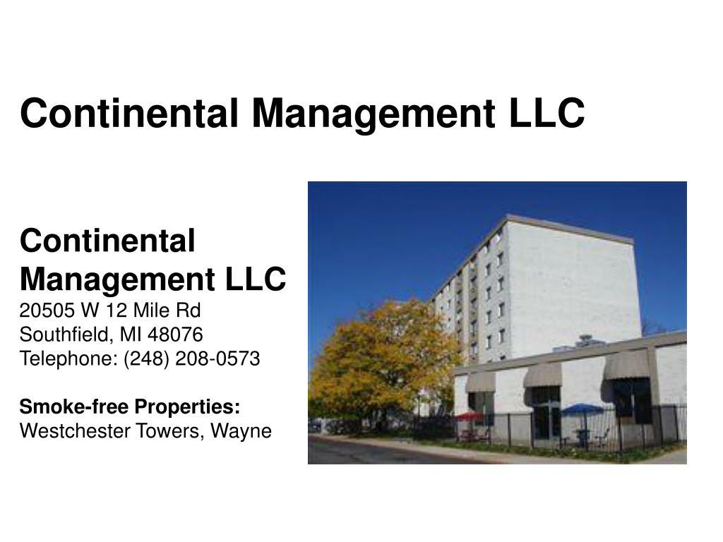 Continental Management LLC