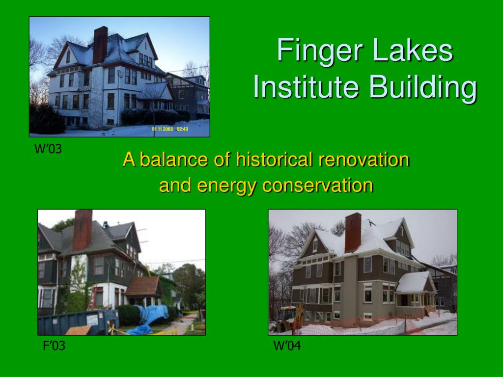 Finger Lakes Institute Building