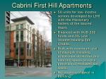 cabrini first hill apartments