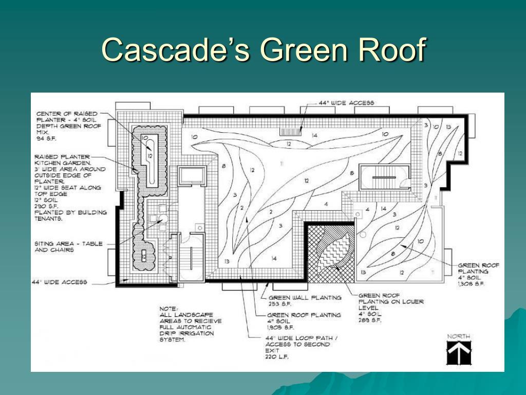 Cascade's Green Roof