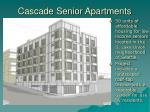 cascade senior apartments