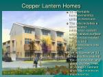 copper lantern homes