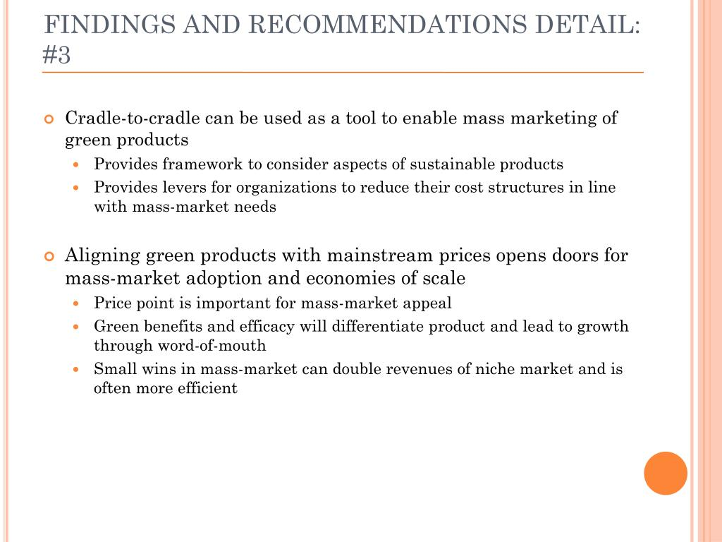 FINDINGS AND RECOMMENDATIONS DETAIL: #3