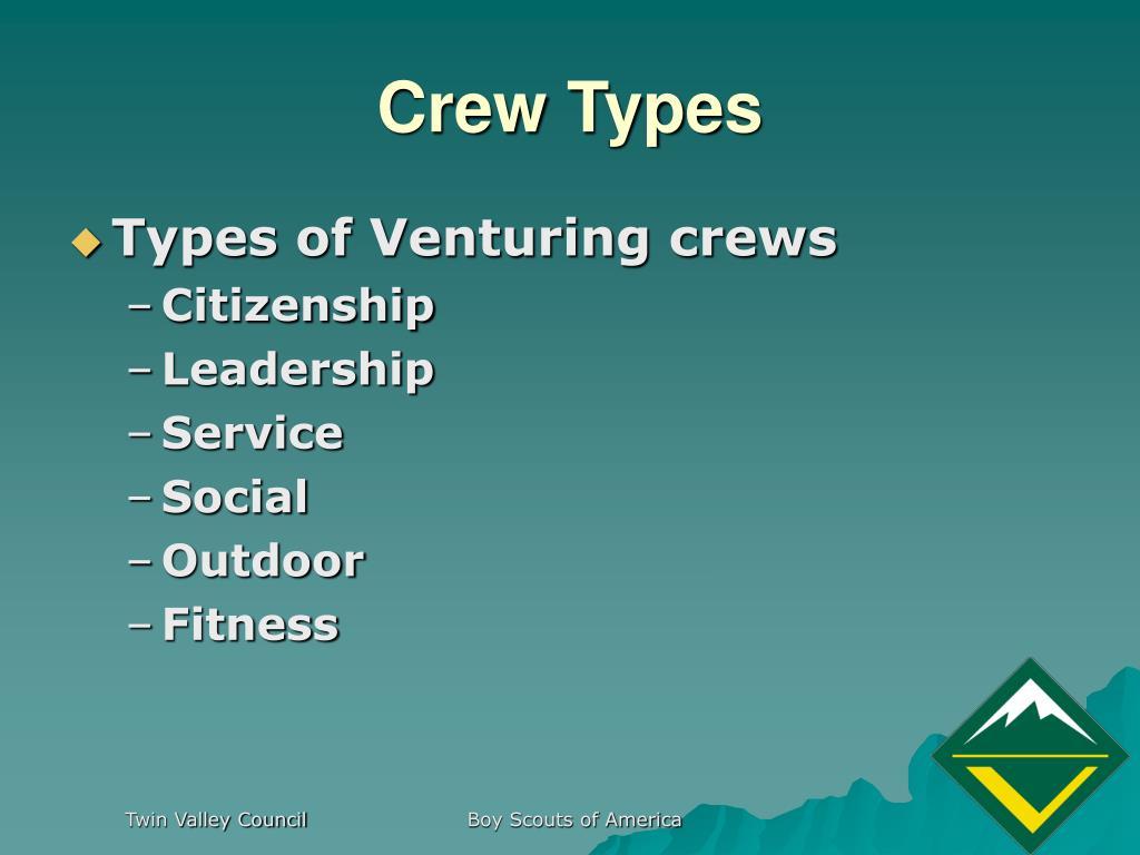 Crew Types