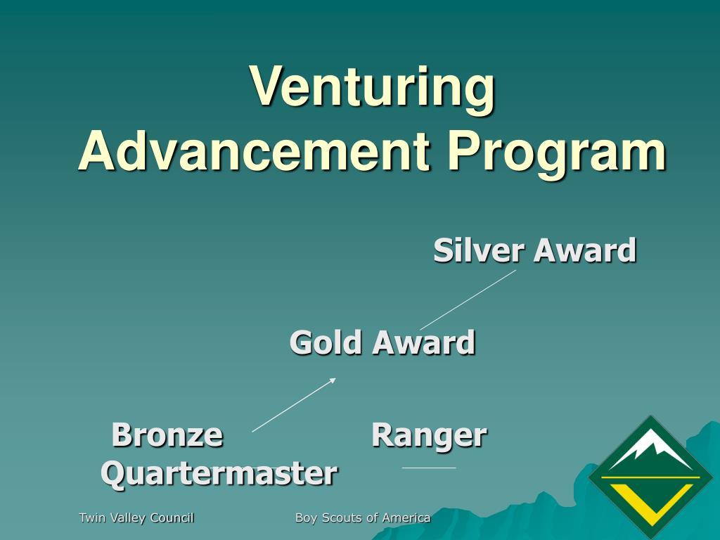 Venturing Advancement Program