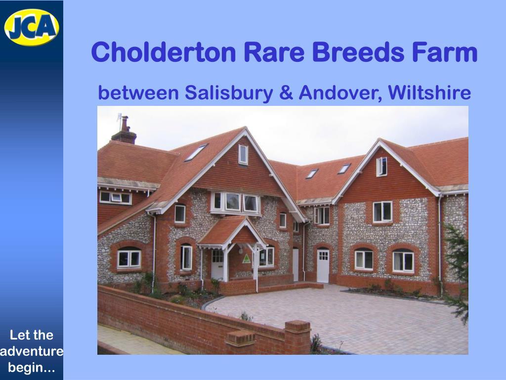 Cholderton Rare Breeds Farm