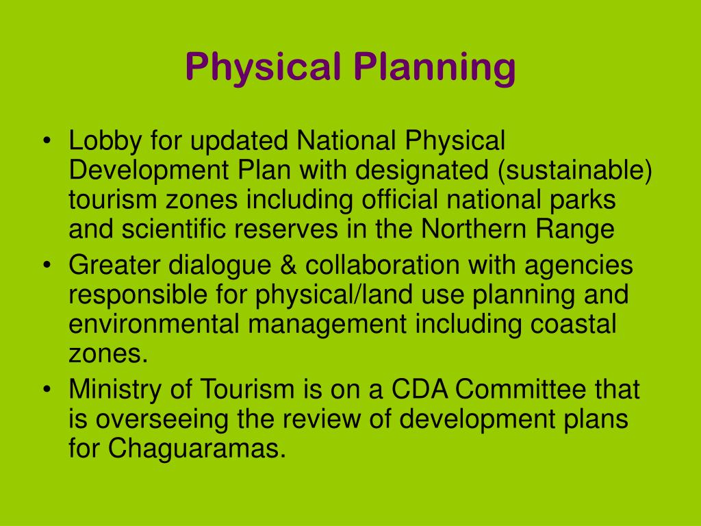 Physical Planning
