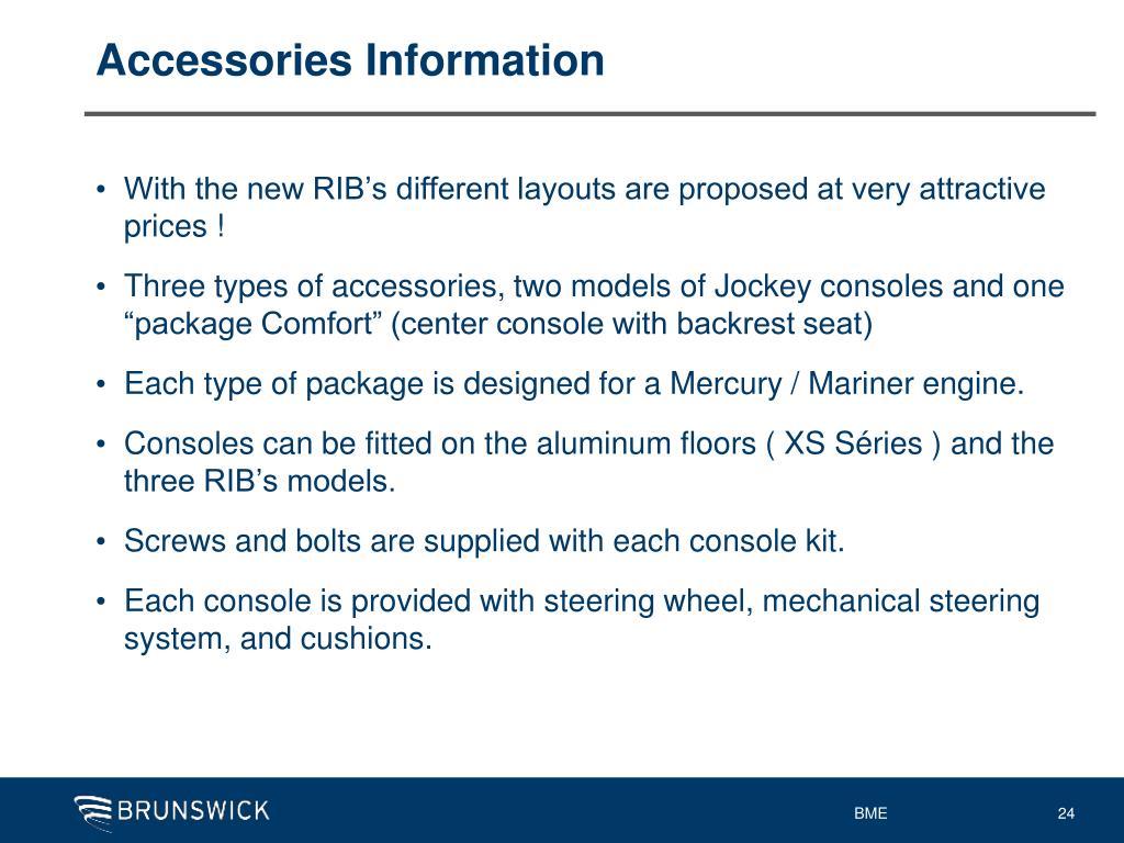 Accessories Information