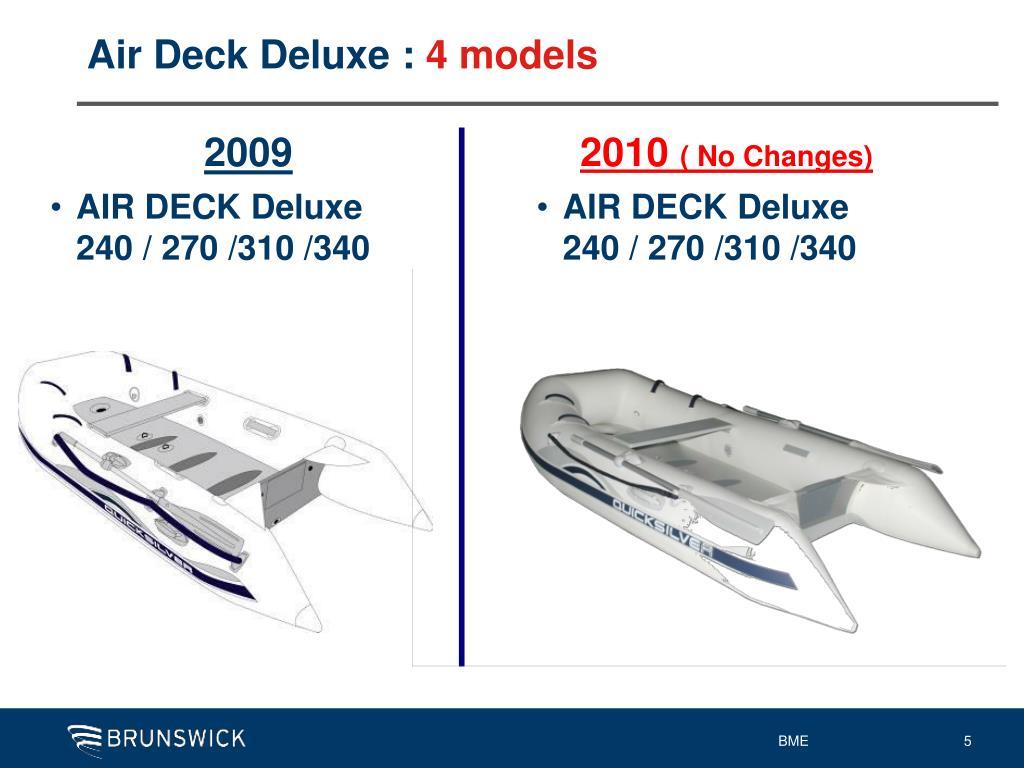 Air Deck Deluxe :