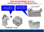 new accessories 2010 for aluminium floor fiberglass deck