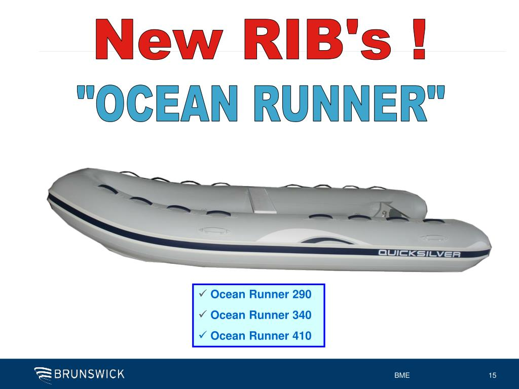 New RIB's !