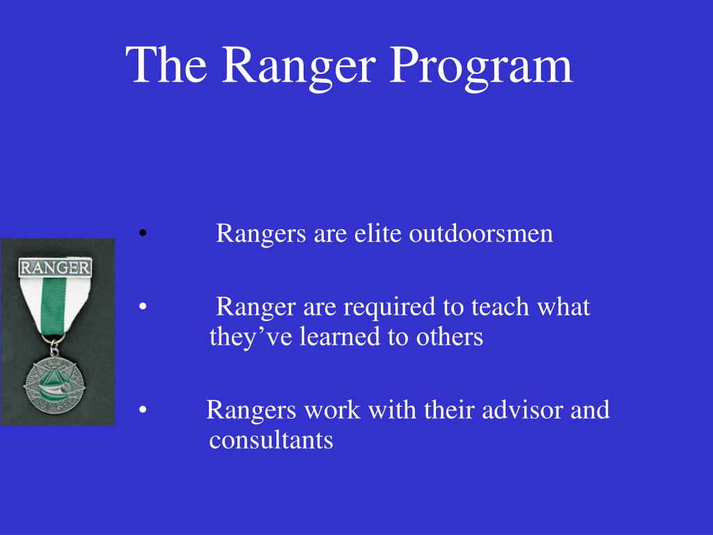 The Ranger Program