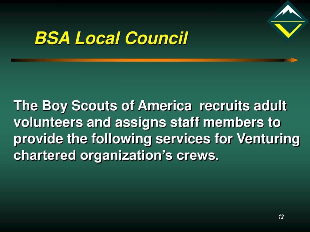 BSA Local Council